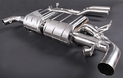 Capristo Sports Exhaust for Aston Martin DB9 / V12 DBS 1