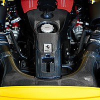 Carbon Fibre Airbox and Lock set