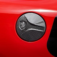 Fuel Tank Cap in Carbon Fibre