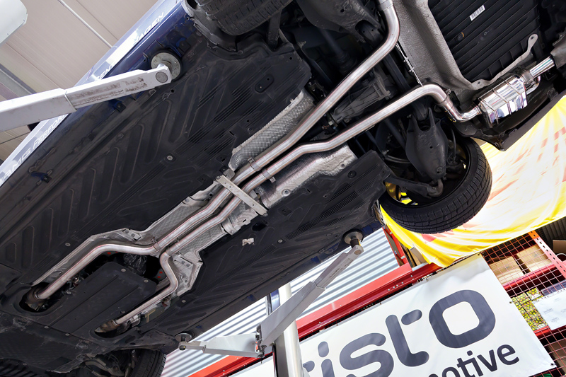 Capristo Exhaust System for the Mercedes C43 | Capristo UK