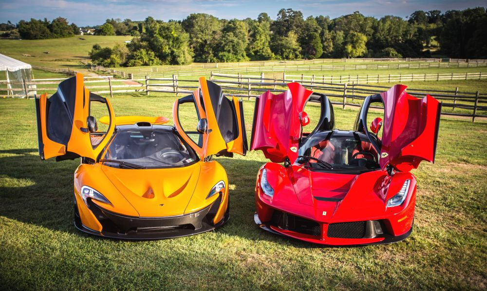 The hybrid hypercar comparison: McLaren P1, LaFerrari and Porsche 918