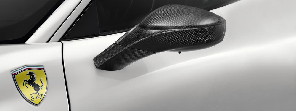 wing mirror carbon