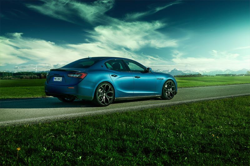 Scuderia Systems and Novitec launch a new tuning programme for the Maserati Ghibli