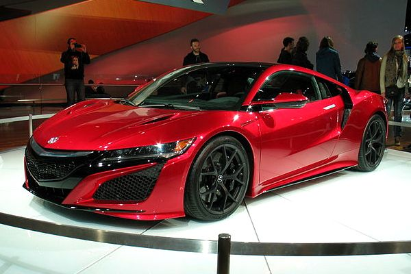 New Acura NSX finally unveiled