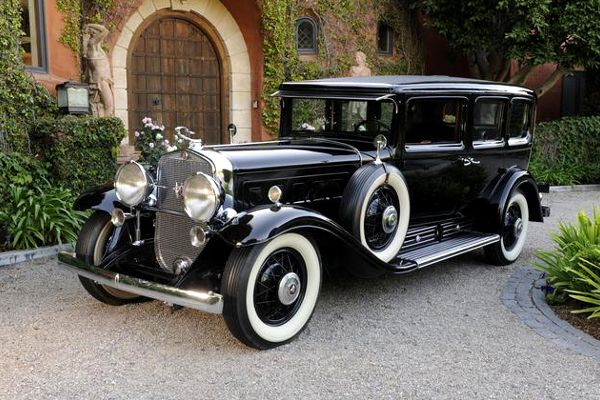 The 1930 Cadillac 452 V16 Armoured Imperial Sedan