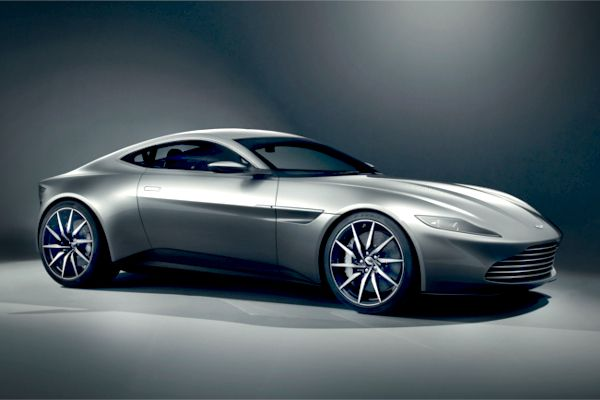James Bond has a new Aston Martin DB10!