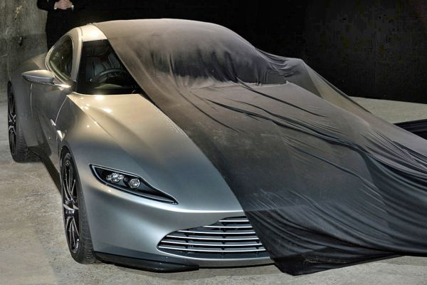 The DB10 was unveiled at Pinewood Studios, just outside of London