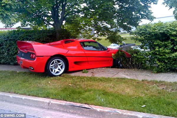 Only 349 Ferrari F50's were produced