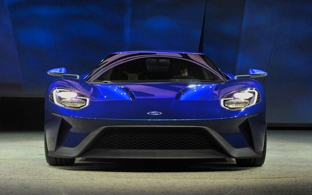 Ford unveils its second generation GT