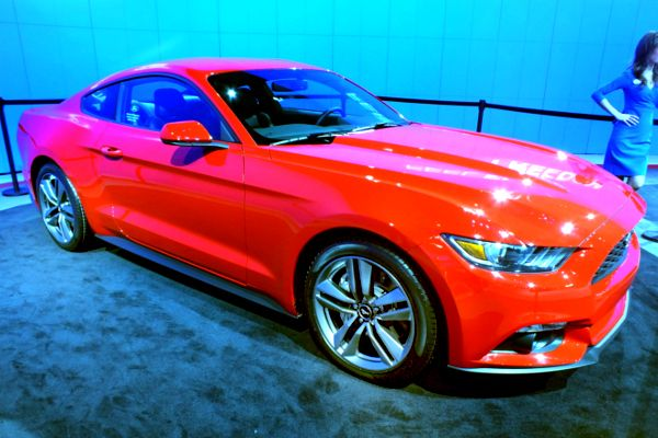 A preview of the Ford Mustang 2015