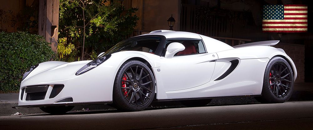 The Hennessey Venom GT spotted during Monterey Car Week 2014.