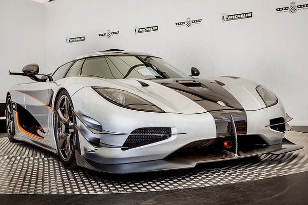 The silver Bullet- a Koenigsegg One:1