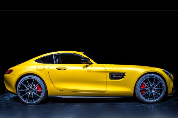 The new Mercedes AMG GT Coupe