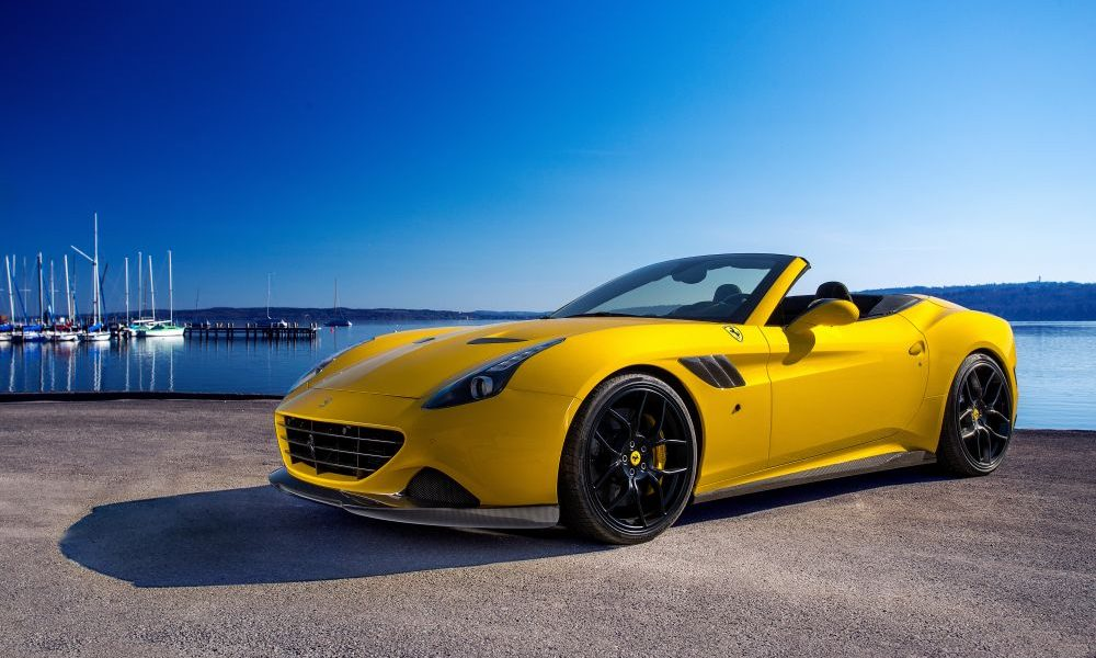 Novitec Rosso gives The California T a power boost