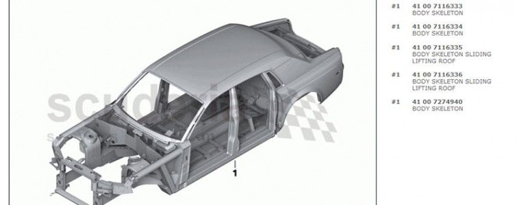Rolls Royce OE Parts Diagrams Now Available on Scuderia Car Parts ...