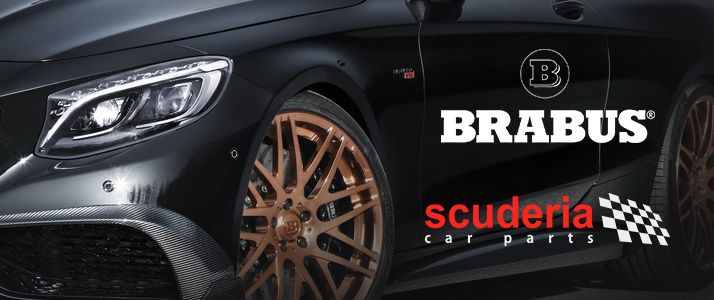 Scuderia Car Parts launches official partnership with BRABUS