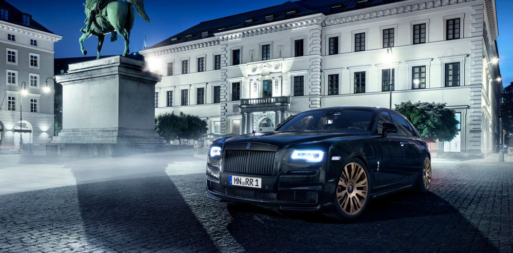 SPOFEC release the new 'Black One' for the Rolls Royce Ghost Series II