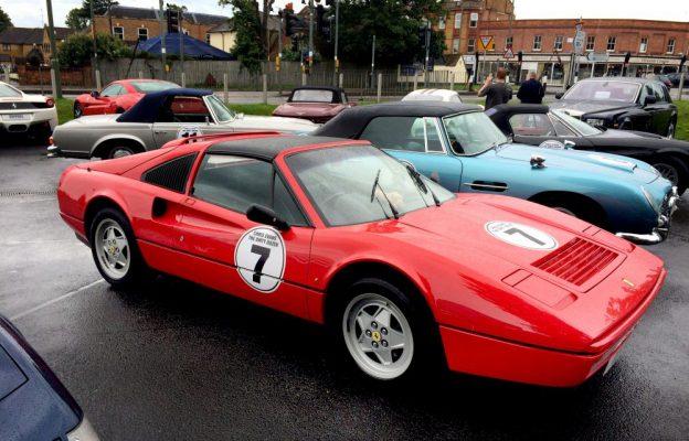 Chris Evans 'Dirty Dozen' cars hit Egham