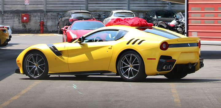 A glimpse of the new Ferrari F12, but is it a GTO?