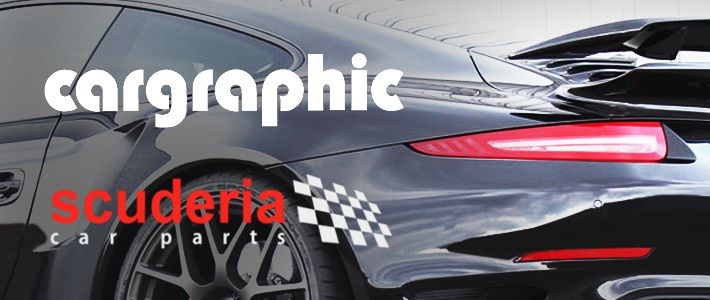 Scuderia launches Cargraphic range online!