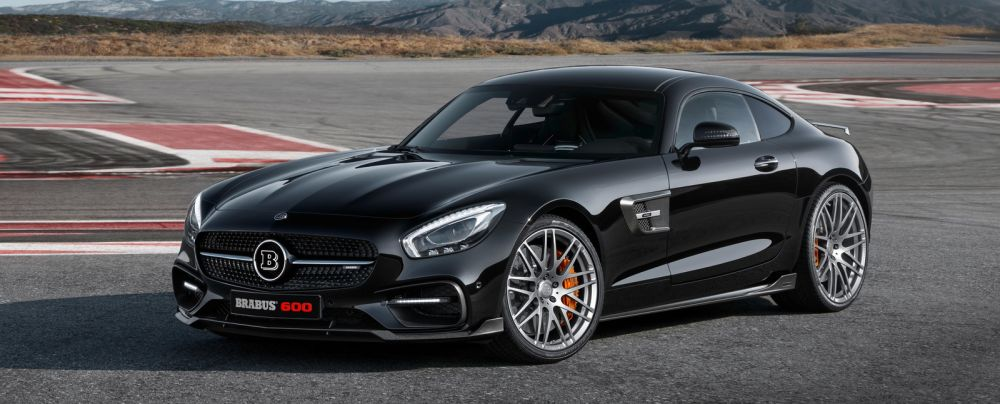 The Mercedes AMG GTS gets a Brabus makeover!
