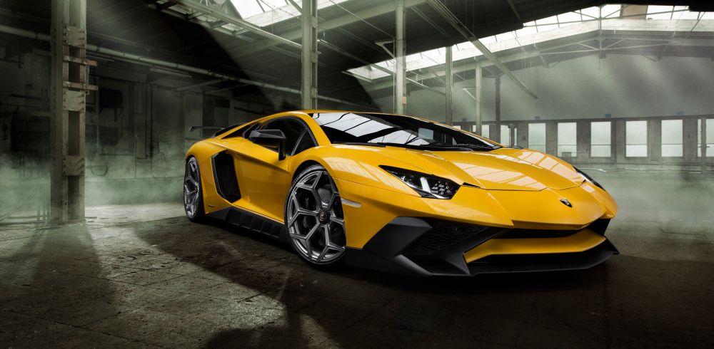 Novitec tunes the Lamborghini Aventador SV