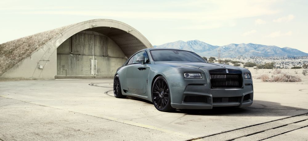NEW Rolls-Royce Wraith Overdose from Novitec