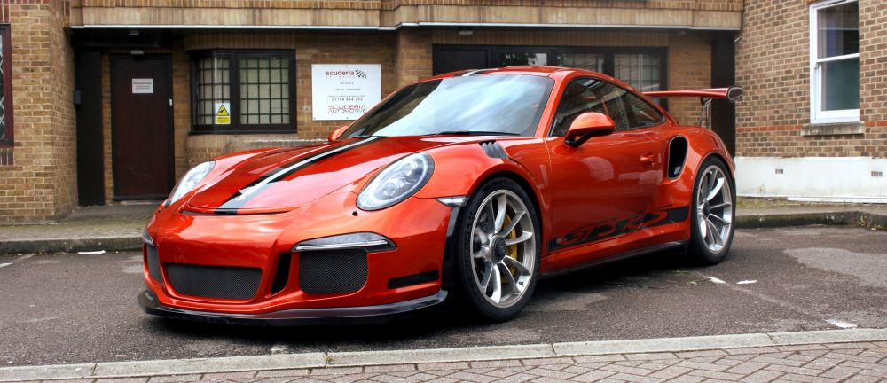 Scuderia fit 991 GT3 RS with Lightweight Cargraphic Exhaust Kit