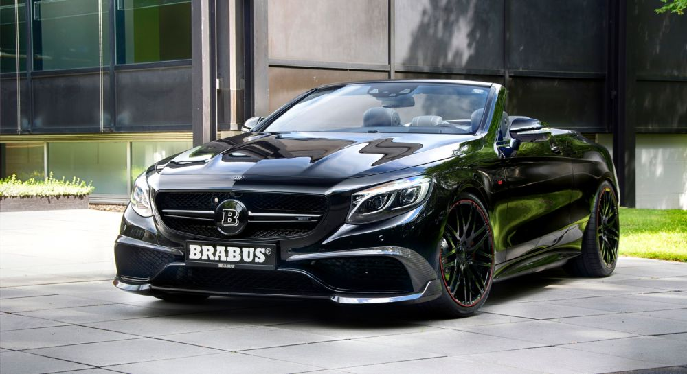 The Brabus 850 6.0 Biturbo Cabrio – the World's Fastest Four-Seat Convertible