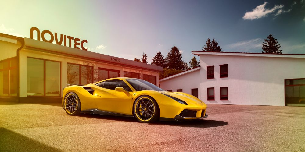 Novitec Rosso converts the Ferrari 488 GTB