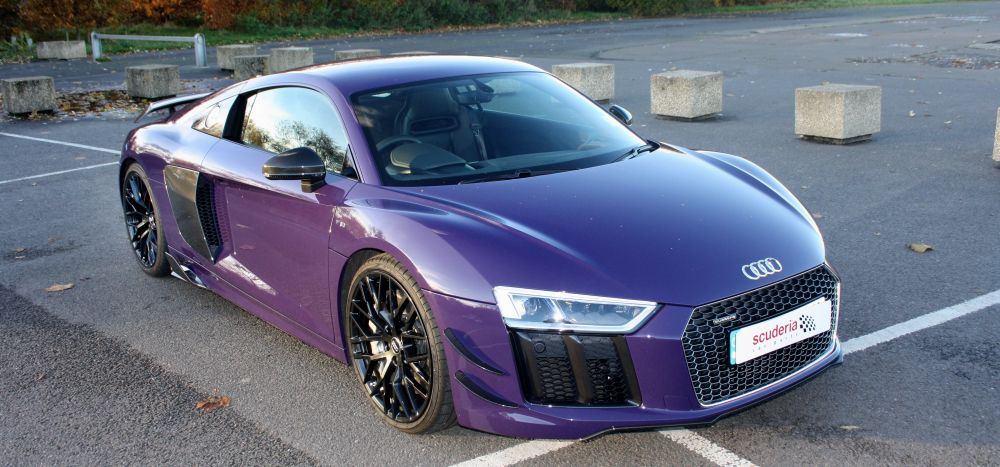Scuderia fits first Capristo Exhaust & Carbon in UK to an Audi R8 V10+ (Second Generation)