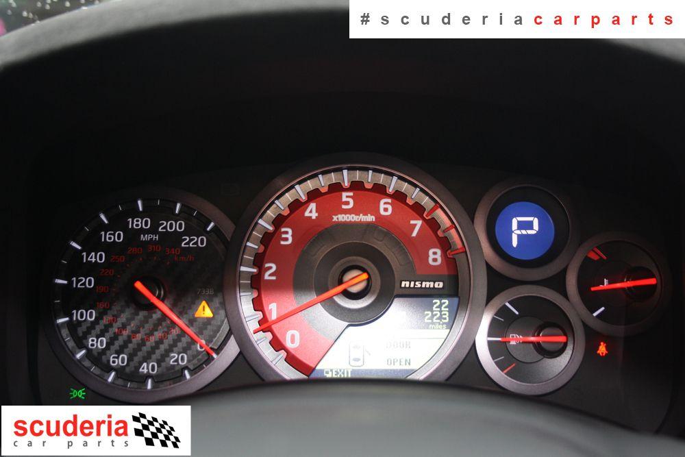 Nissan GTR Dashboard