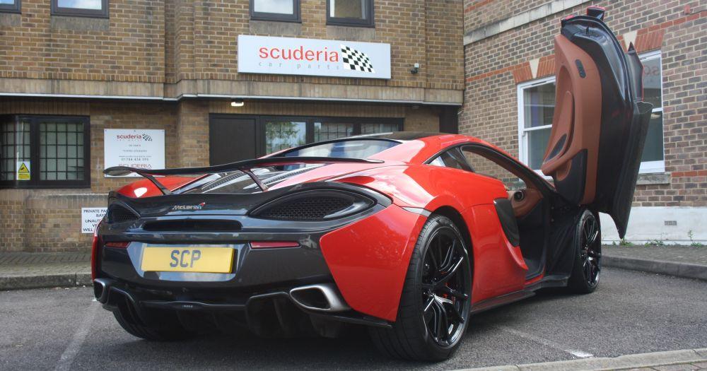 McLaren 570S transformed by Scuderia