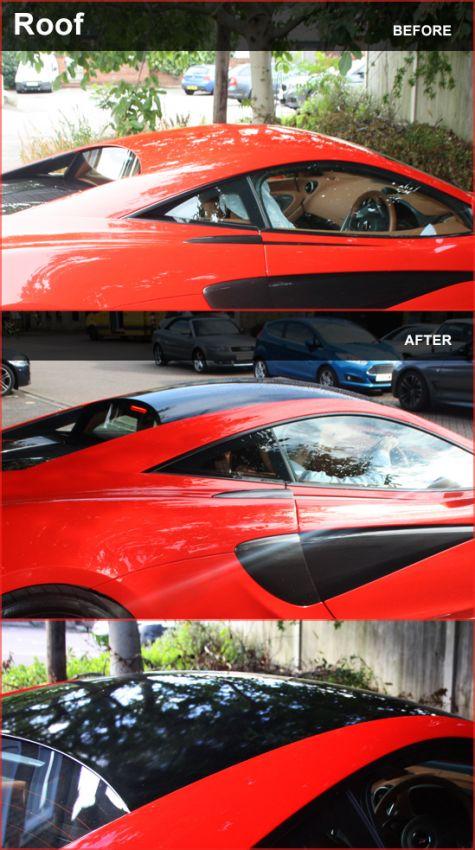 McLaren 570S Roof