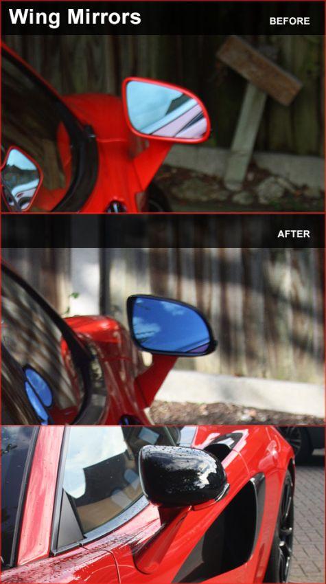 McLaren 570S Wing Mirrors