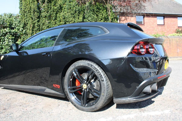 GTC4Lusso with Novitec Body Kit Conversion and Side Skirts