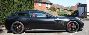 Modified Ferrari GTC4Lusso Novitec Conversion