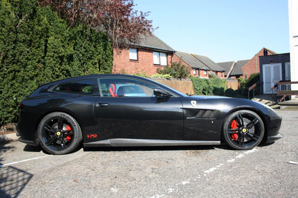 Ferrari GTC4Lusso Novitec Conversion, Lowered And Modified