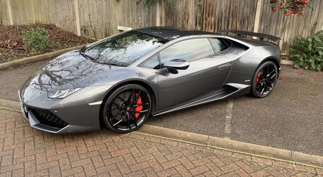 Lamborghini Huracan Upgrades; Rear Wing By Novitec, Sports Exhaust By Capristo