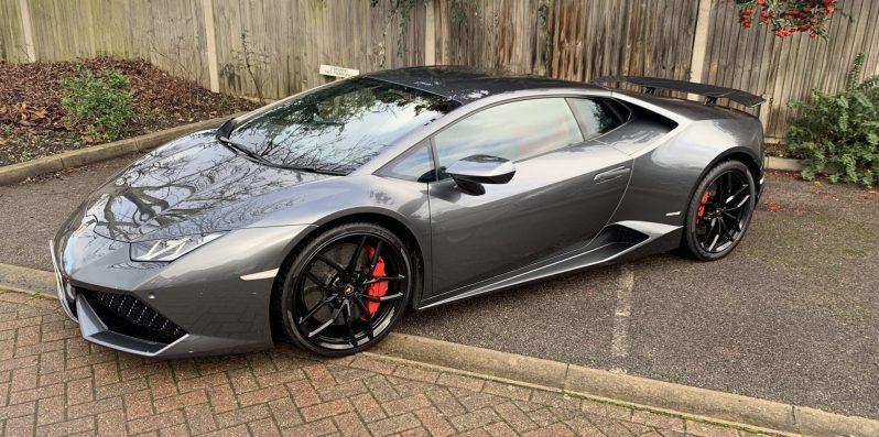 Lamborghini Huracan Upgrades; Rear Wing by Novitec, Sports Exhaust by Capristo