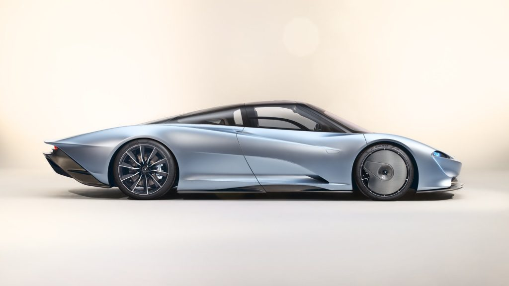 McLaren Speedtail Rear