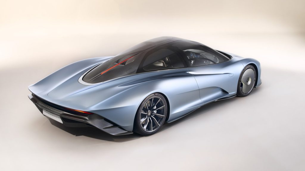 McLaren Speedtail Side & Rear
