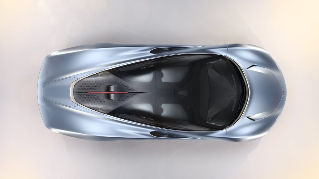 McLaren Speedtail Roof