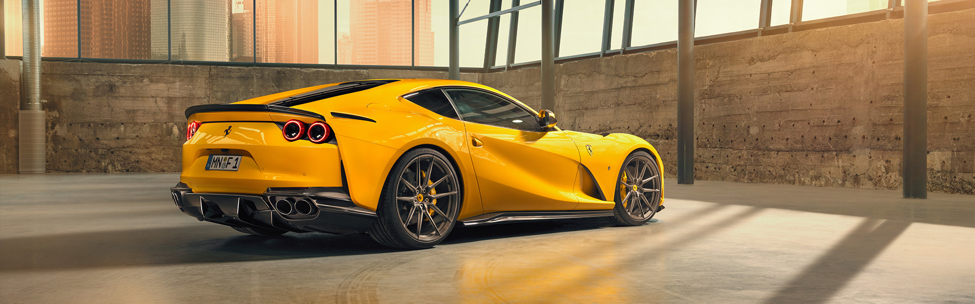 Novitec refines the Ferrari 812 Superfast sound and aerodynamics