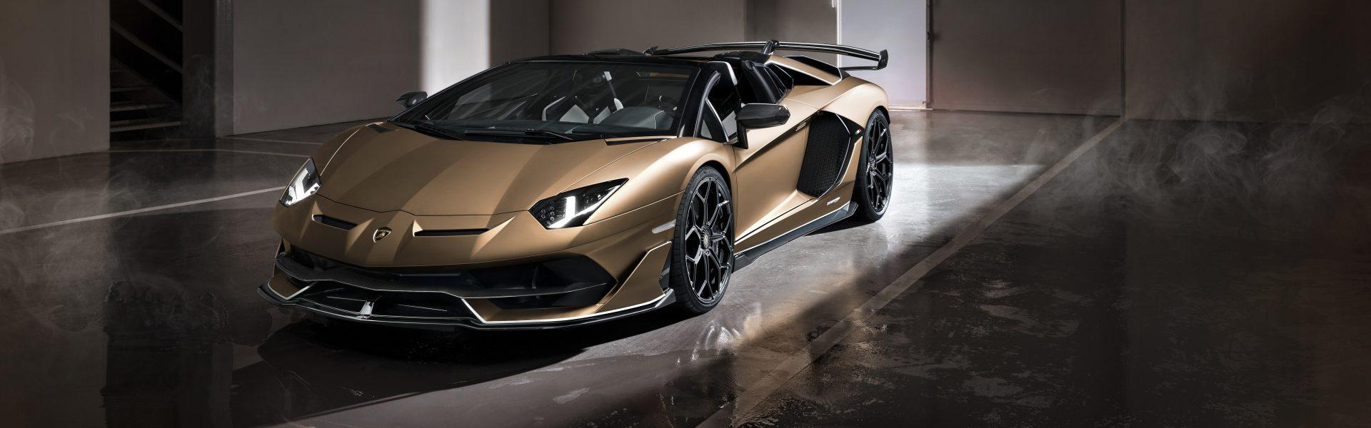Lamborghini Aventador SVJ Roadster revealed
