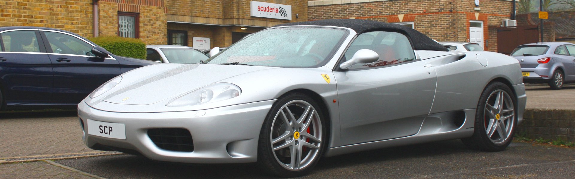 Ferrari 360 with Capristo Level Three Exhaust and Cat-Replacement
