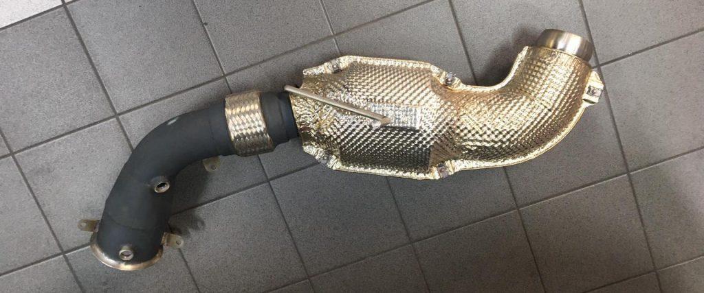 QuickSilver cat pipe for McLaren 675LT