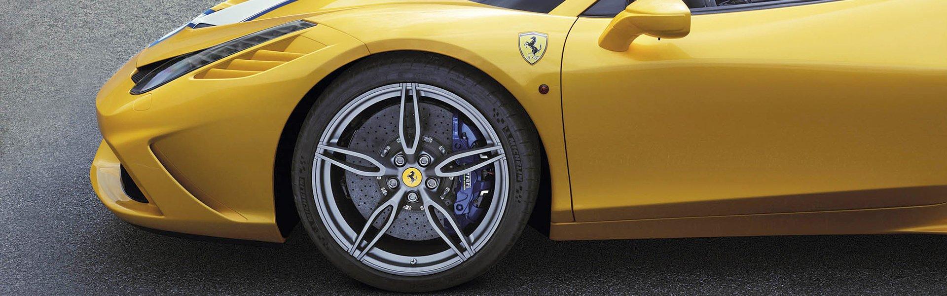 Differentiate your Ferrari with original Ferrari wheels themselves!