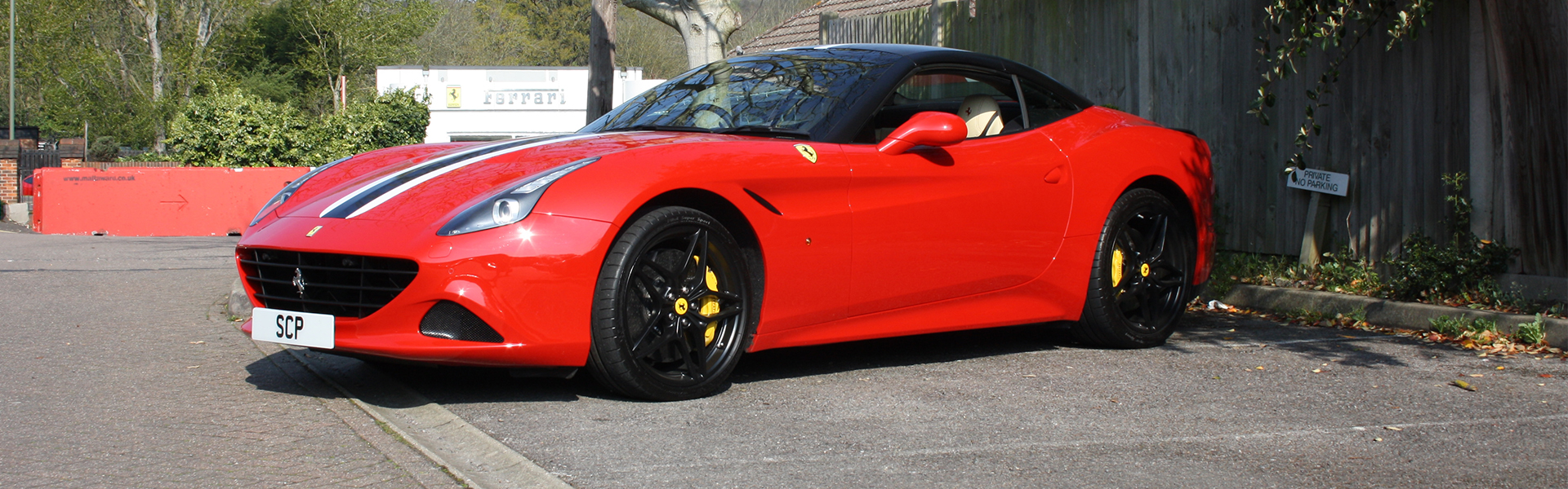 Ferrari California T with new throaty Capristo exhaust