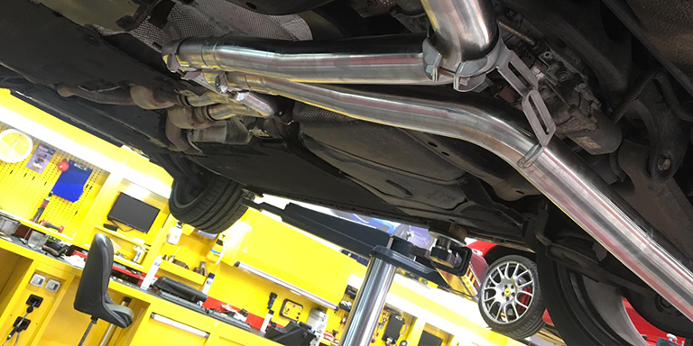 Capristo sports exhaust for Audi RS5